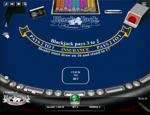 Blackjack Atlantic City Game